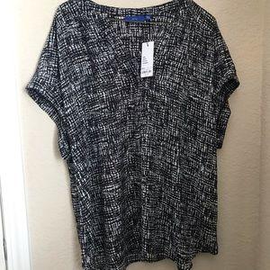 NWT Apt. 9 Blouse Size XXL